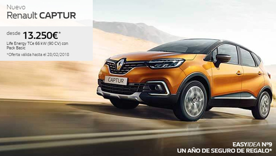 Renault Captur crossover by Renault